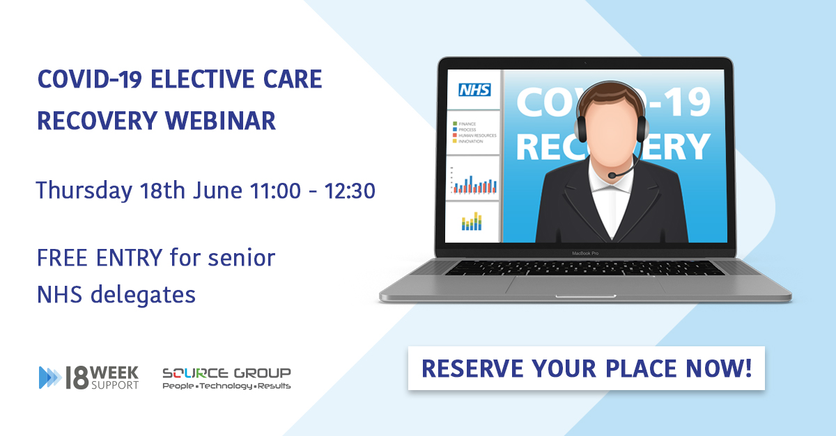 Covid-19 Recovery Webinar Reserve Your Place Now Image